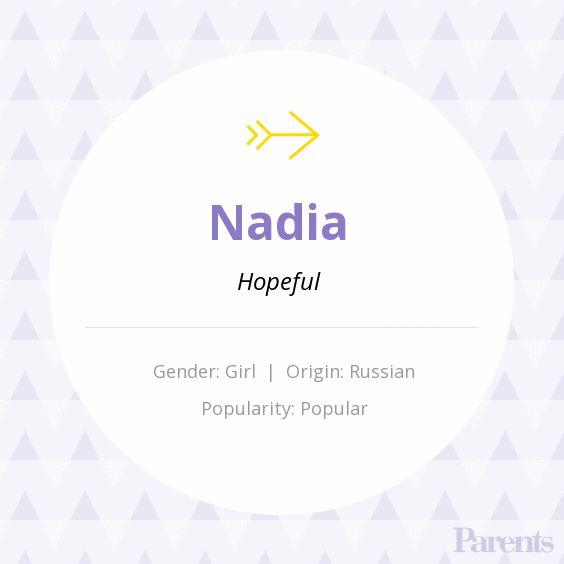 Baby Name: Nadia