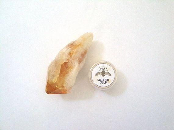 Healing Honey Balm for Dry Skin by CelestialSelf on Etsy