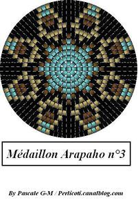 Medallion pattern. This would make a lovely pendant. m_daillon_Arapaho_3