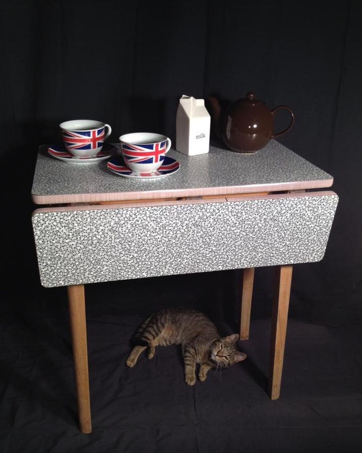 1000 Images About Formica Drop Leaf Tables On Pinterest