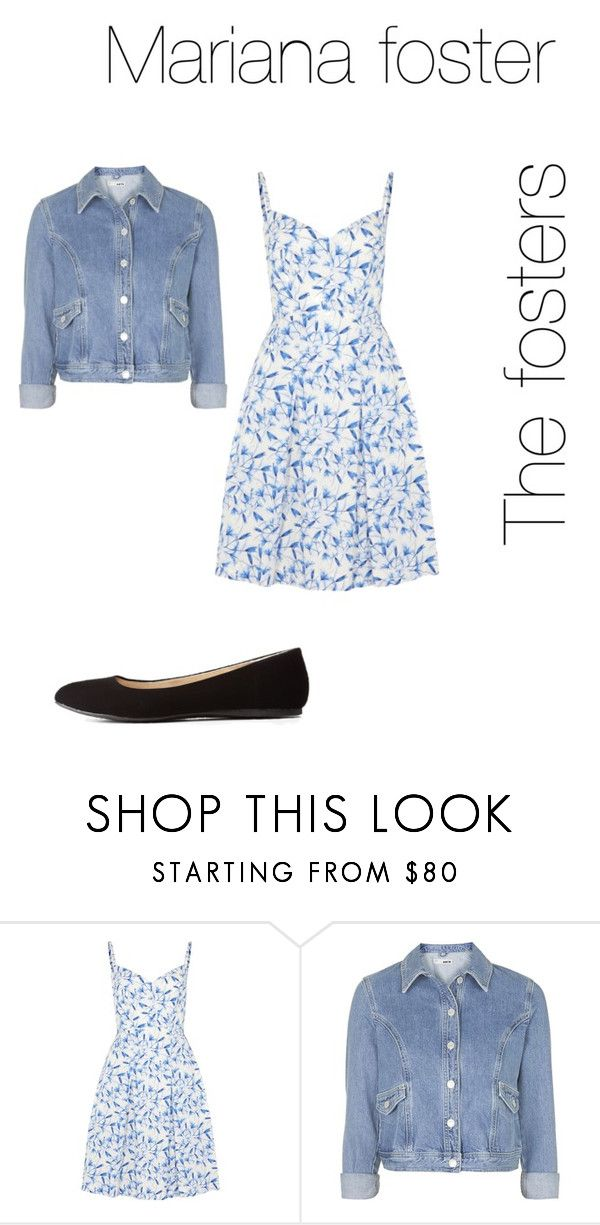 """Mariana foster the fosters look"" by desiv2001 ❤ liked on Polyvore featuring philosophy, Topshop and Charlotte Russe"