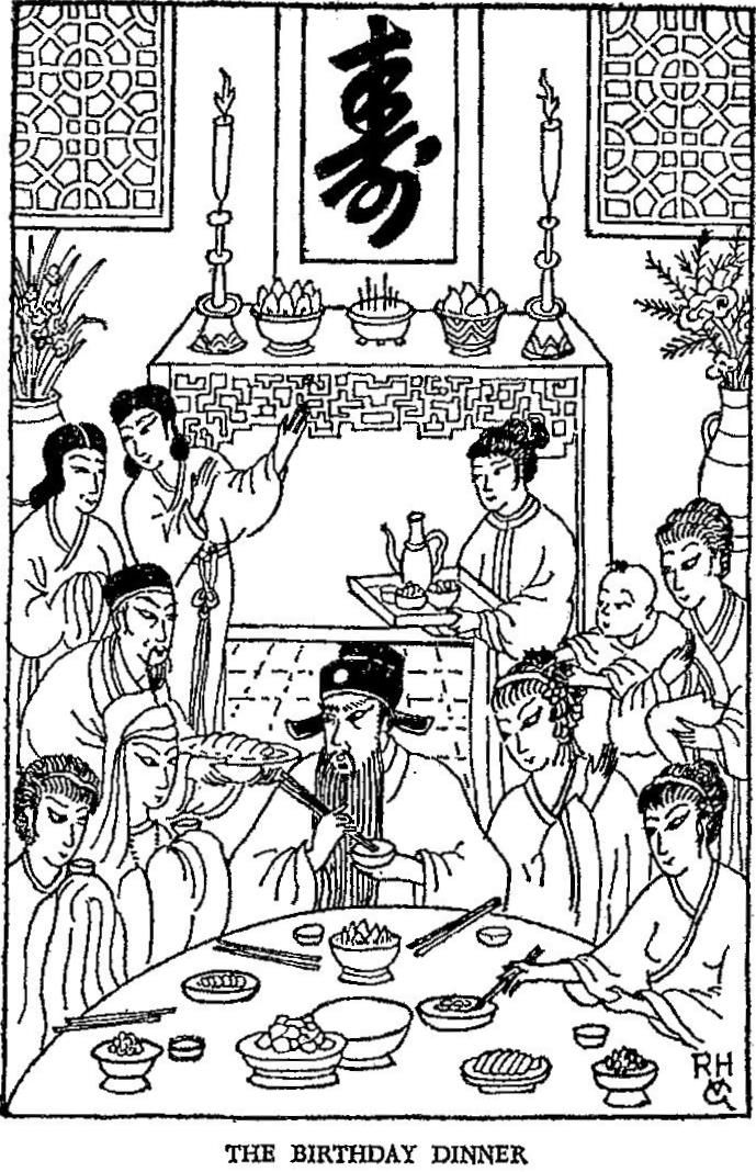 The Phantom Of The Temple- The Birthday dinner.
