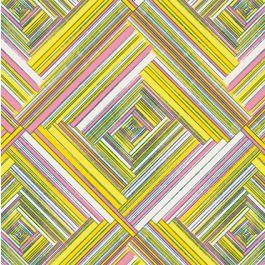 referência gráfica. Temas geométricos muito coloridos.  Para rapaz ou rapariga. Estofo de cadeira, prateleira forrar ou colar na parede.