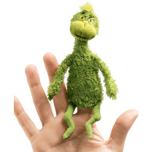 DEMO-SITE - DR. Seuss the Grinch Finger Puppet (12 pcs) - Specialty Toys Network Demo Site