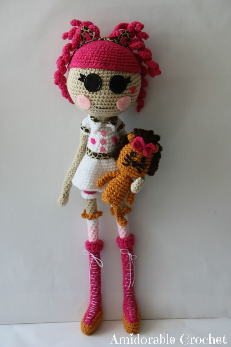 Lalaloopsy Amigurumi Tutorial : A[mi]dorable Crochet: Lalaloopsy Doll Amigurumi ...