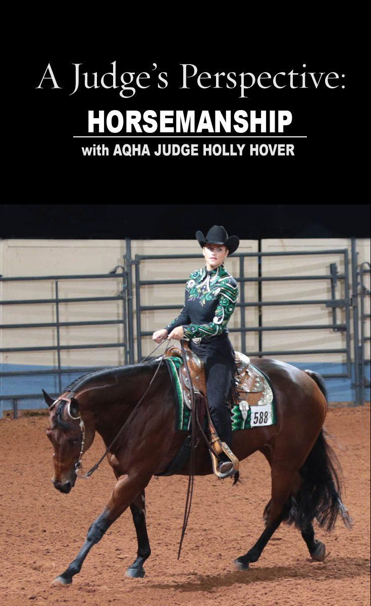 AQHA Judge Holly Hover walks you through the winning horsemanship pattern at the 2015 AQHYA World Show