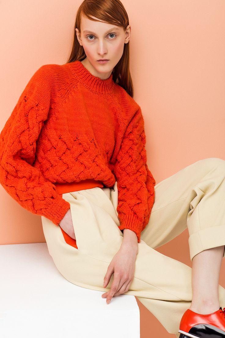 Delpozo Pre Fall 2016 Knitwear Collection now available at http://www.Delpozo.com/en/shop/knitwear