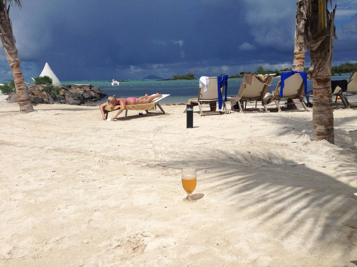 Beer on the beach #ZilwaAttitude
