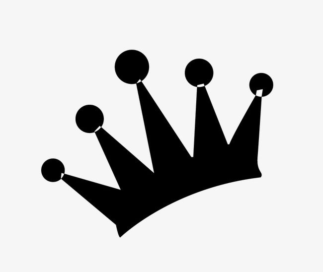 Crown Silhouette Imperial Crown Black Png And Vector With