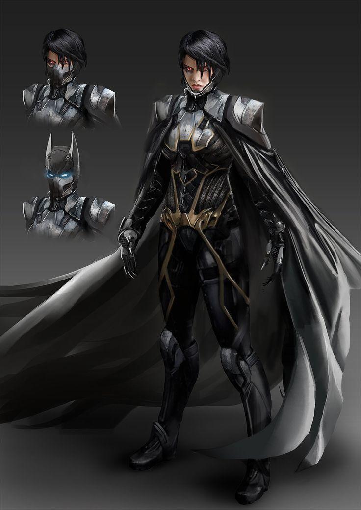 ArtStation - Batgirl III - Netherrealm-inspired Redesign, David Kaye                                                                                                                                                      More
