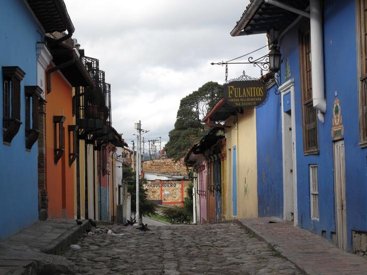 Bogotá La Candelaria street