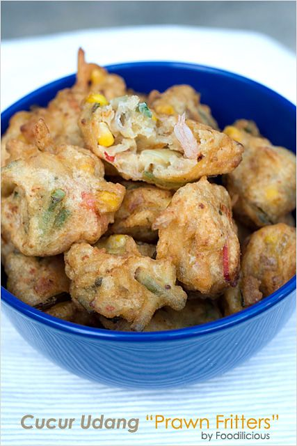 Cucur Udang (Malaysian Prawn Fritters)