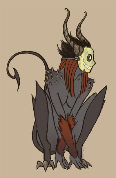 30 Day Monster Challenge- Demon by kurios.deviantart.com on @deviantART