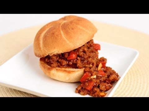 ▶ Homemade Sloppy Joes Recipe - Laura Vitale - Laura in the Kitchen Episode 746 - YouTube