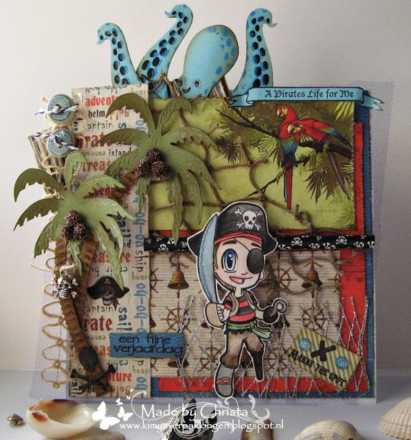 Christa's Scrappies: DT-Kimya -DT Some Odd Girl- A Pirates life!!, ScrapBerry's, the Pirates