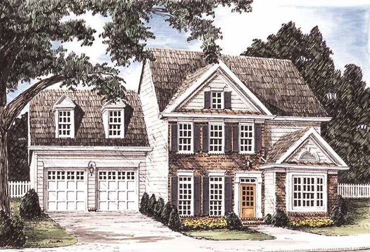 Eplans Colonial House Plan Elegant Early American