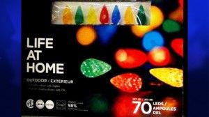 Decorative Light Producers Recall Holiday Products