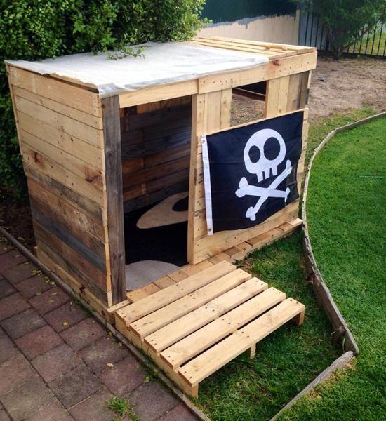 La cabane pirate - Momes.net