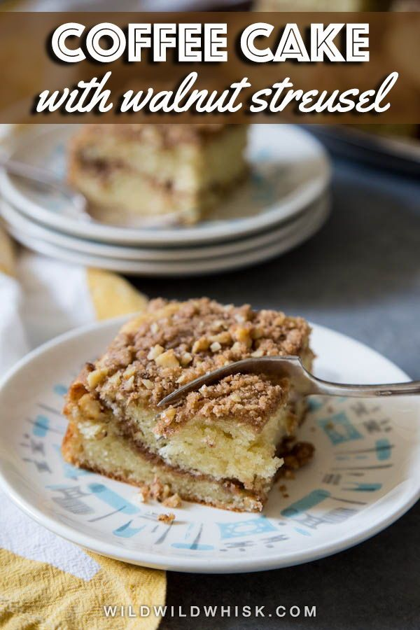 Sour Cream Coffee Cake Recipe With Images Sour Cream Coffee Cake Coffee Cake Dessert Recipes