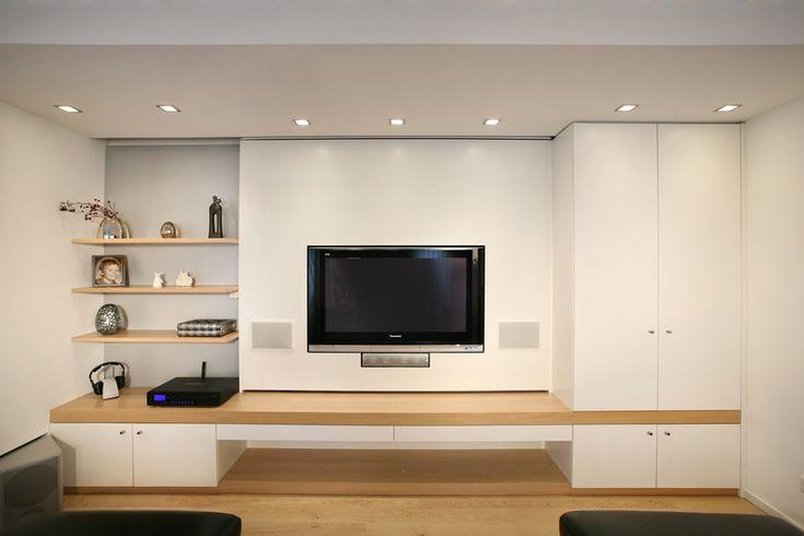 tv wand m bel ideen pinterest wand and tvs. Black Bedroom Furniture Sets. Home Design Ideas