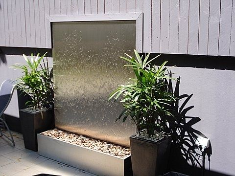 ... Entry, Home, Restaurant, Health Resort, Beauty Salon, Office.  Description: Contemporary Eye Catching Water Feature, Entirely Stainless  Steel Design With ...
