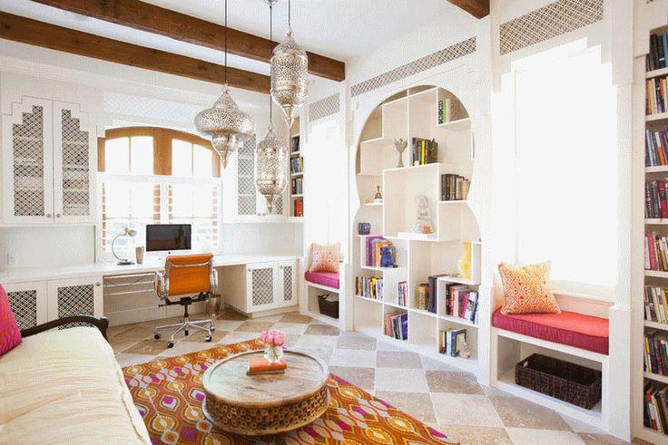 Картинки по запросу шторы в марокканском стиле