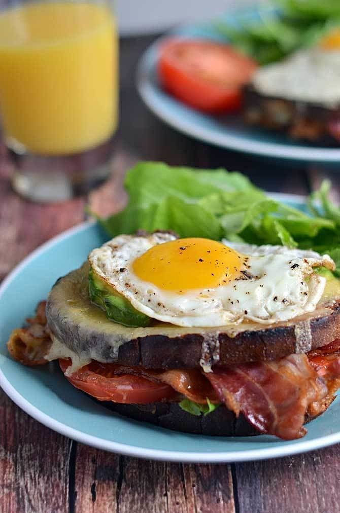 BLT Croque Madame | If you love BLTs but want to branch out beyond the classic sandwich, there's a recipe with your name on it in this list. From mini BLT cheddar biscuits to BLT pasta salad and much more, these recipes don't disappoint.