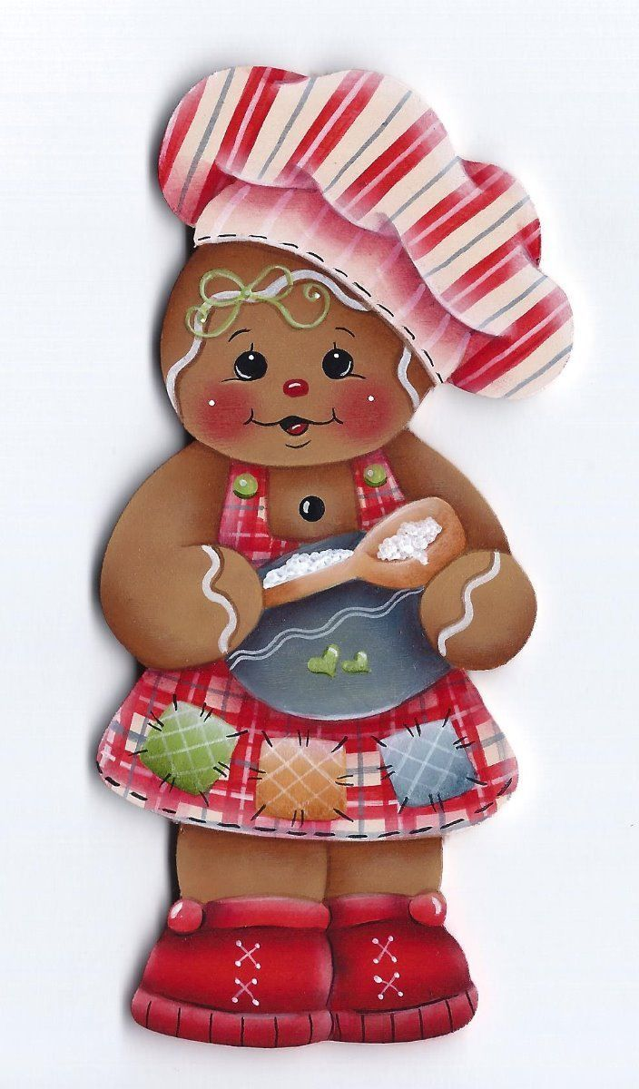HP Gingerbread Girl Baker Fridge Magnet | eBay