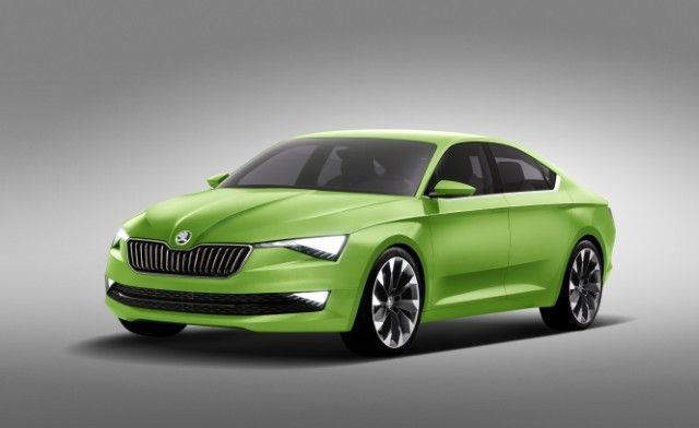 The ŠKODA Vision C design concept.