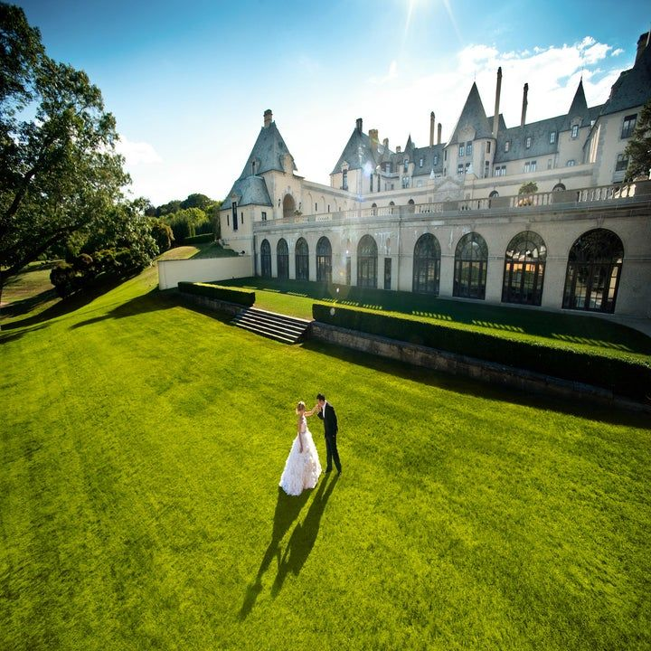 Epic Photo Of Couple In The Pool Room At Oheka Castle In Long Island Ny Bride And Groom Is Magical Oheka Castle Fairytale Wedding Inspiration Wedding Photos