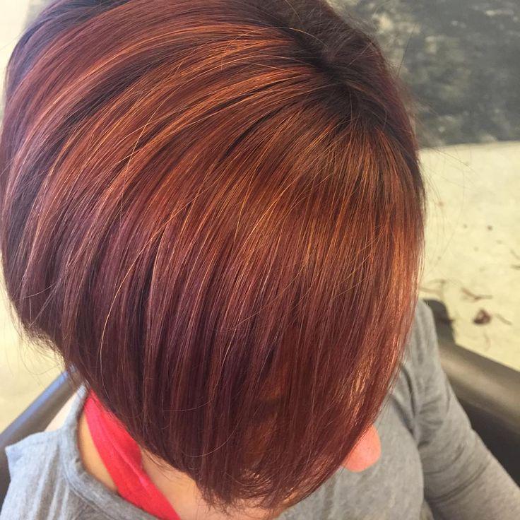 awesome Оригинальное рыжее мелирование на рыжие волосы (50 фото) — Добавь прическе огня