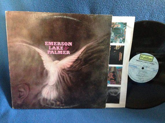 Vintage Emerson Lake & Palmer  S/T Debut Vinyl by sweetleafvinyl
