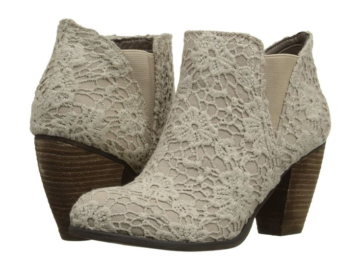 26 Inexpensive Ankle Boots You'll Want To Wear All Day       love these floral lace booties for spring! wish they were available in wide width :(