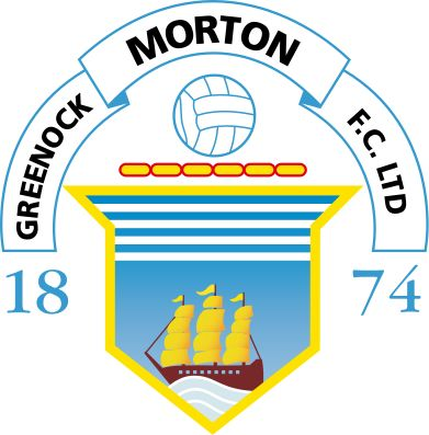 1874, Greenock Morton F.C. (Scotland) #GreenockMortonFC #Scotland (L17640)