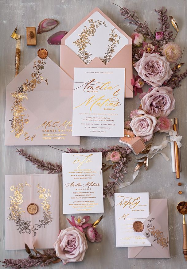 Wedding Invitations Gold Rose Gold Silver Glitter 15 Goldkalw Z Rose Gold Invitations Beautiful Wedding Invitations Gold Wedding Invitations