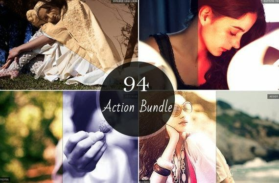 Smfadigital: 94 in 1 Premium Photoshop Actions Bundle