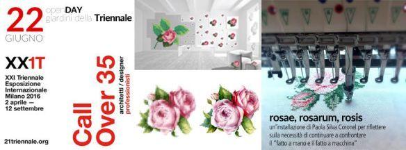 Il #ricamo #Tajima in un'installazione di #interiorDesign alla XXI Triennale