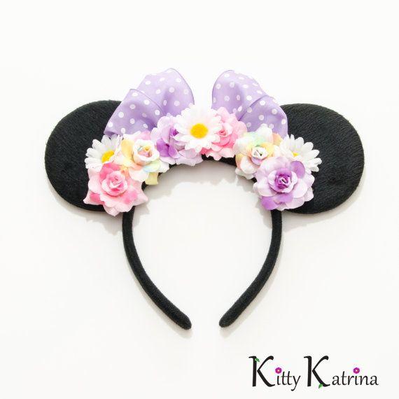 Daisy Duck Disney Ears Headband Daisy Duck by LUVKittyKatrina