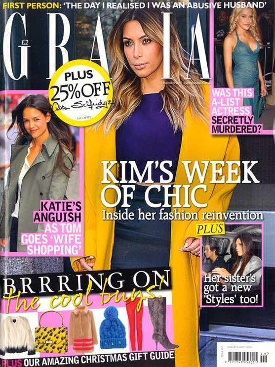 Kim Kardashian (2013.12.02. Grazia) #KimKardashian