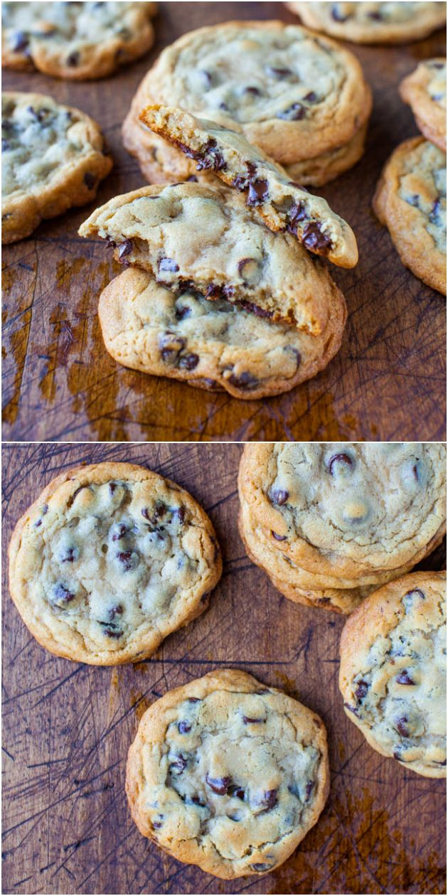 New York Times Chocolate Chips Cookies {from Jacques Torres} - Soft & chewy chocolate chip cookies based on the very popular recipe.