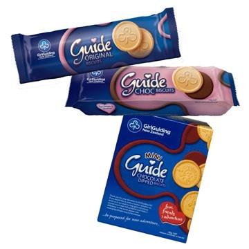 Girl Guide Biscuits;  mmmm nom nom nom