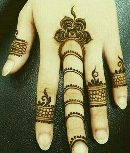 Finger Henna Designs Mehndi Designs For: Interesting Strip Mehndi Designs Middle Finger