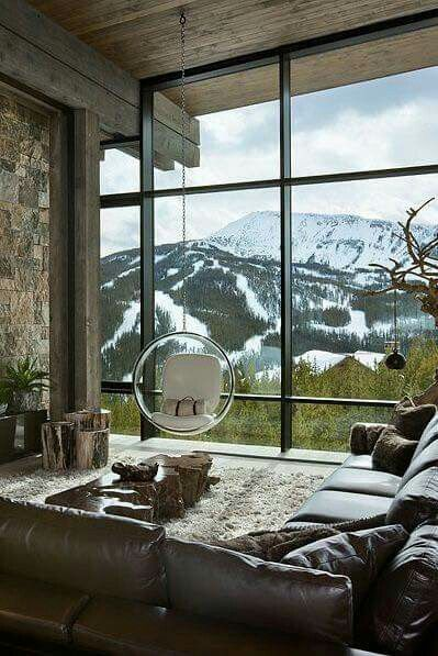 Definitely a room with a view.