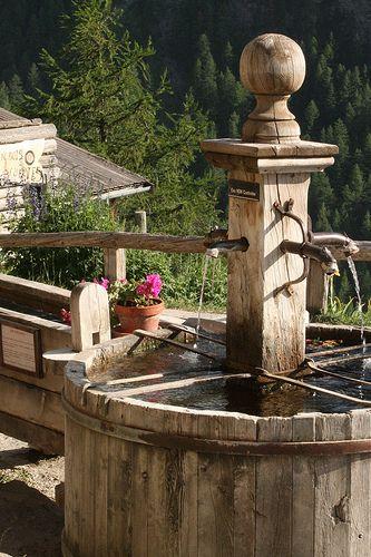 Village Fountain, Saint-Véran, Provence, France