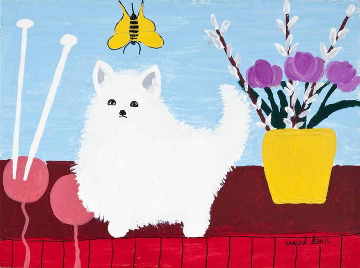 'Fluffy' by Maud Lewis at Mayberry Fine Art