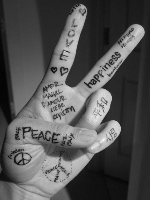 How to say 'Peace' in 100+ languages