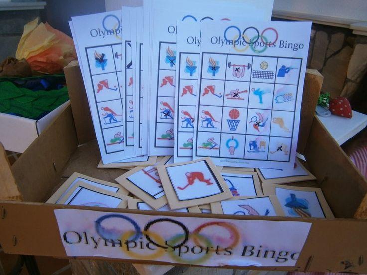fiesta tematica olimpiadas