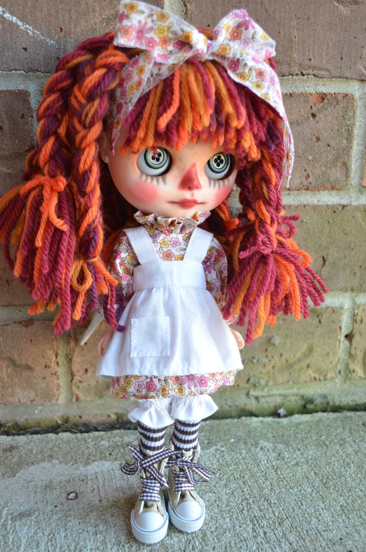 "SO CUTE!! ""Maggy Muffin"" Custom OOAK Blythe Doll by Pariszhenpink 