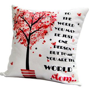 Enhance the beauty of your living space with this superbly designed super soft digitally printed cushion. Rs 549/- http://www.tajonline.com/mothers-day-gifts/product/md2098/cushion-for-mom/?aff=pint2014/