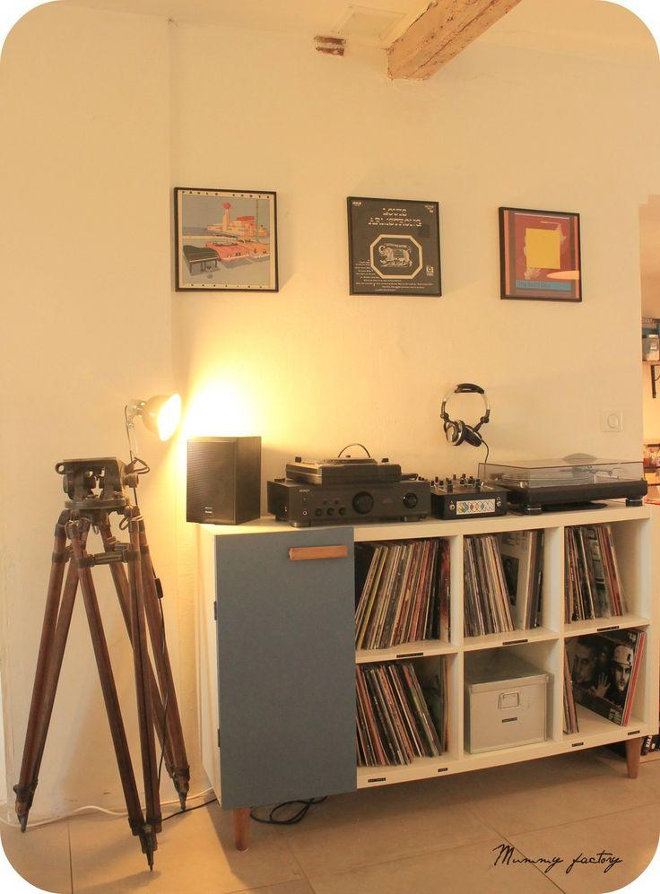 les 25 meilleures id es de la cat gorie meuble hifi sur pinterest meuble hifi design tag re. Black Bedroom Furniture Sets. Home Design Ideas